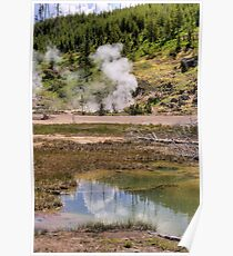 Yellowstone Steamworks Poster