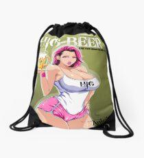Hig beer Drawstring Bag