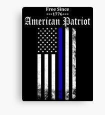 Free Since 1776 - American Patriot Canvas Print