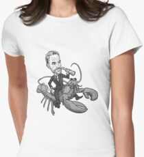 Lobster Rider Women's Fitted T-Shirt