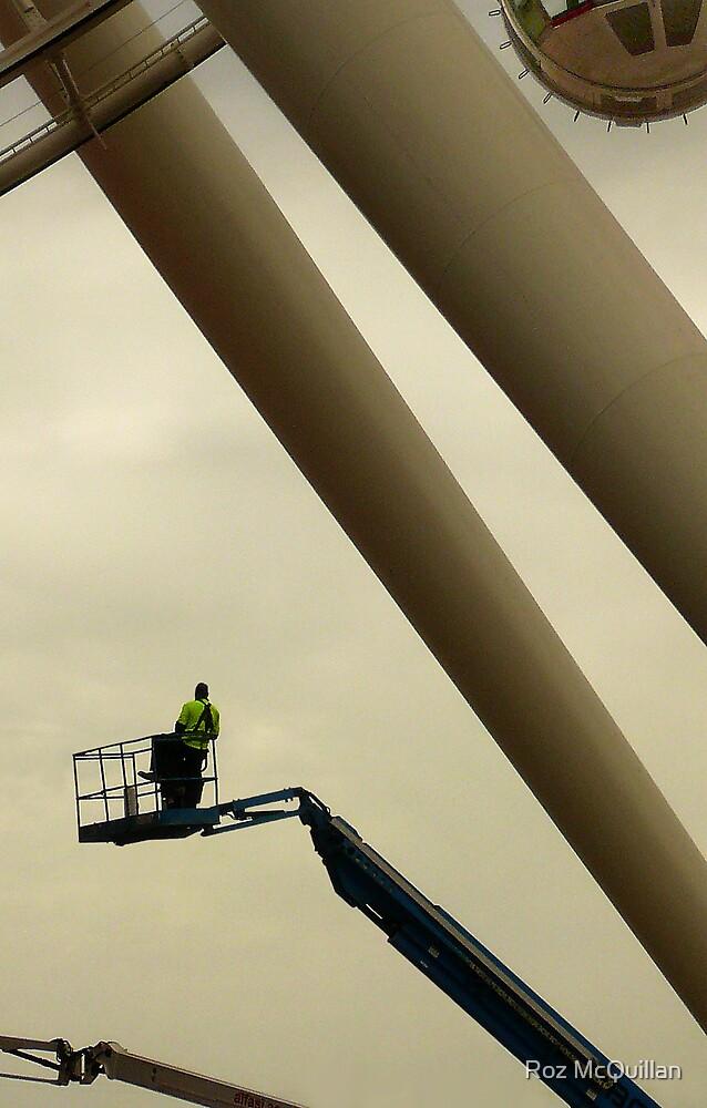Man at Work by Roz McQuillan