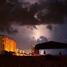 Panama City Lightening by Linda Mathews