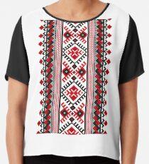 Vyshyvanka /  Embroidery Chiffon Top