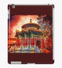 In the Garden of Forbidden City. Beijing. China. iPad-Hülle & Klebefolie