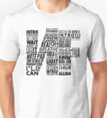 NF - Word Collaboration Design  Unisex T-Shirt