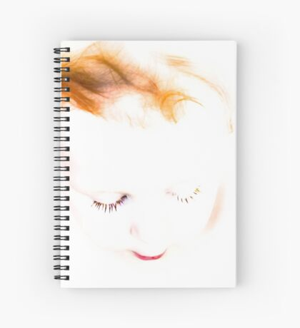 Face of innocence Spiral Notebook