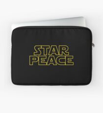 STAR PEACE (Star Wars funny parody) Laptop Sleeve