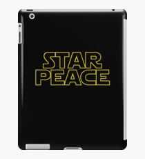STAR PEACE (Star Wars funny parody) iPad Case/Skin
