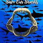 Reef Sharks - Save Our Sharks by ppcapel