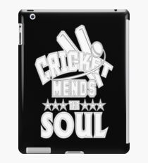Cricket Lover Cricket Mends the Soul iPad Case/Skin
