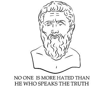 Plato Quote by VentureDesign