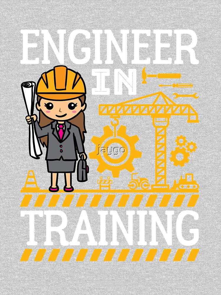 Engineer In Training Kids STEM Gifts Girls by jaygo