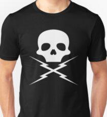 Stuntman Mike's Lightning Skull Unisex T-Shirt