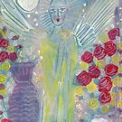Angel with pots by catherine walker
