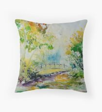 watercolor 809020 Throw Pillow