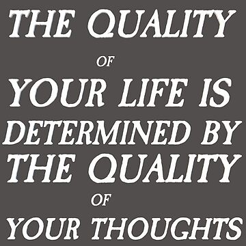 The Quality of Your Life by VentureDesign