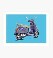 Vespa Scooter Art Print