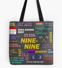 B99 Quotes Tote Bag