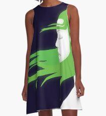 Neon Girl A-Line Dress