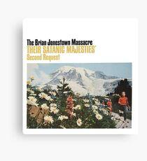 Das Brian Jonestown Massaker - Ihre satanischen Majestäten 'zweite Anfrage Leinwanddruck