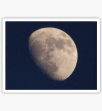 Close up of moon Sticker