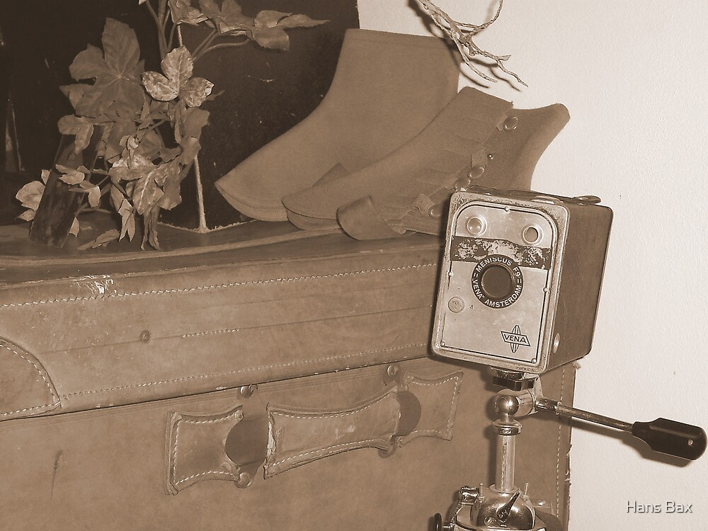 My father's first camera by Hans Bax