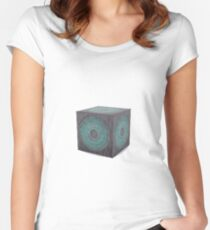 3d model of pandorica Women's Fitted Scoop T-Shirt