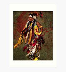 Thunder Chief Art Print