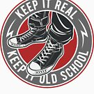 Shoes Old School T-shirt by artbaggage