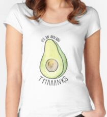 59df38c7c4 It's an Avocado Thanks Vine Women's Fitted Scoop ...