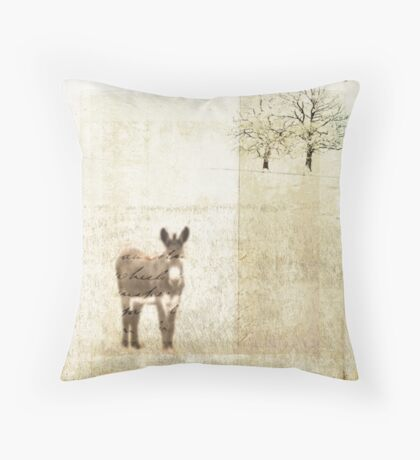 The grass is greener on my side Throw Pillow