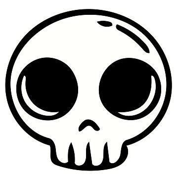 Cute Kids Skull by SmartAndPunny