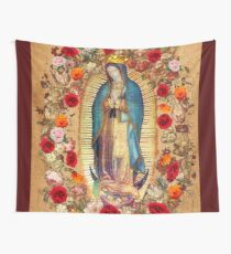 Our Lady of Guadalupe Virgin Mary Catholic Mexico Poster Wall Tapestry