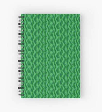 Green Zebra Spiral Notebook