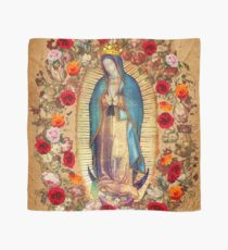 Our Lady of Guadalupe Virgin Mary Catholic Mexico Poster Scarf