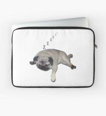 Sleeping Pug Laptop Sleeve