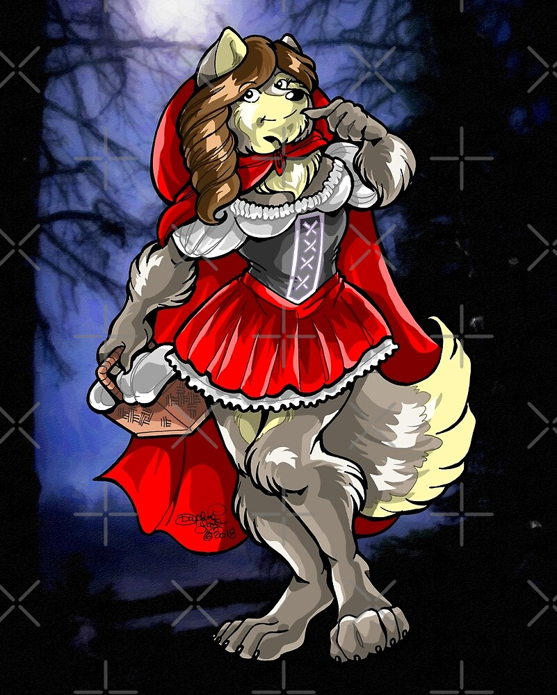 Little Red Riding Wolf by Daphne Lage