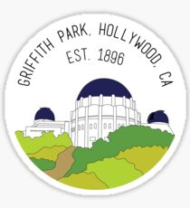 Pegatina Parque Griffith