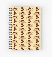 Happy Bendy (YELLOW) Spiral Notebook
