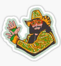 Macho man Sticker
