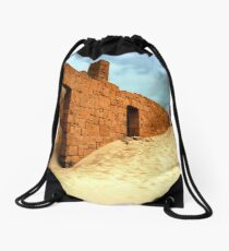 Ceduna Ghost Town Drawstring Bag