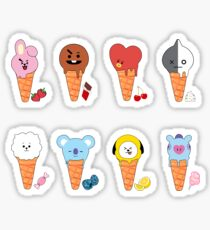 Pegatina BT21 Ice Cream