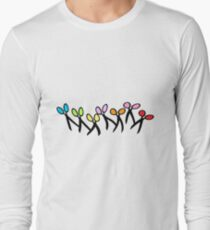 Dancing Scissors T-Shirt Long Sleeve T-Shirt