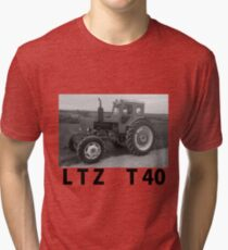 LTZ T40 tractor Tri-blend T-Shirt