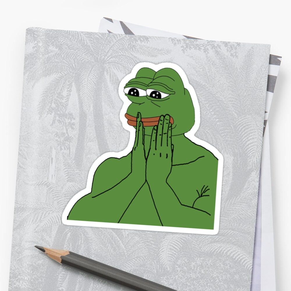 Quot Pepe Da Frog Quot Stickers By Fijiwatermelon Redbubble