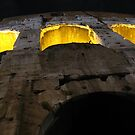 Colosseum Up Close by Jason Bran-Cinaed