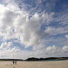Walking Keadue Beach Donegal Ireland by mikequigley