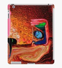 Time Passing, page 20-21 from Everything IS, a visual and philosophical theory of everything iPad Case/Skin