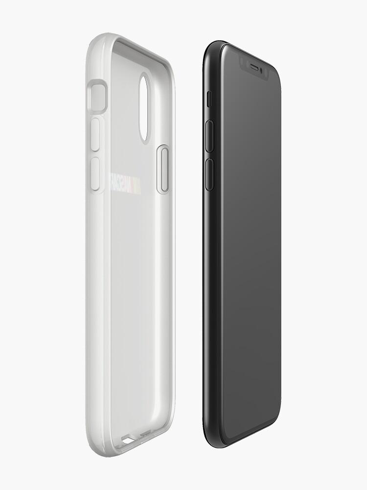 Alternative Ansicht von Nascar-Logo iPhone-Hülle & Cover