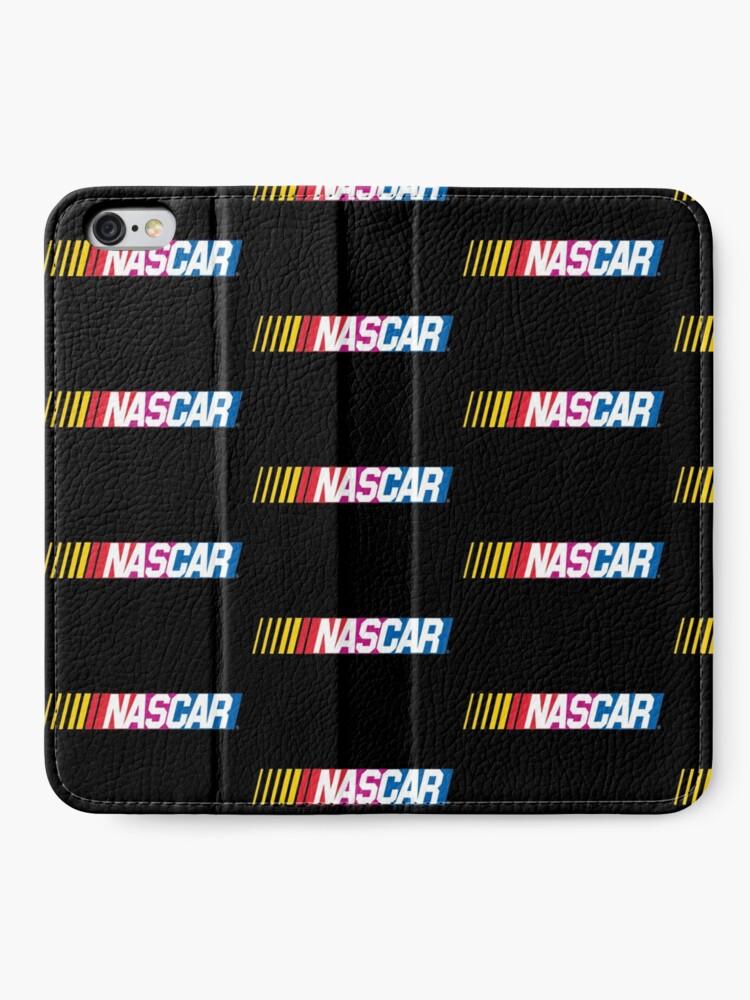 Alternative Ansicht von Nascar-Logo iPhone Flip-Case